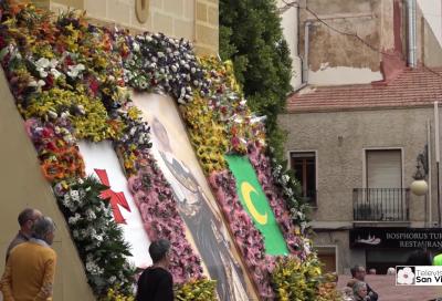 Ofrenda de Flores al Santo Patrón 2018