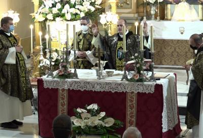 Funeral por las víctimas y afectados durante la crisis sanitaria por la covid-19