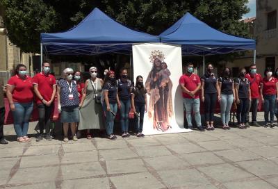 Ofrenda Solidaria de Hogueras y Barracas 2020