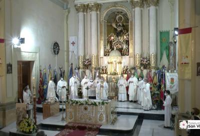 Misa Solemne en Honor al Santa Patrón San Vicente Ferrer 2021