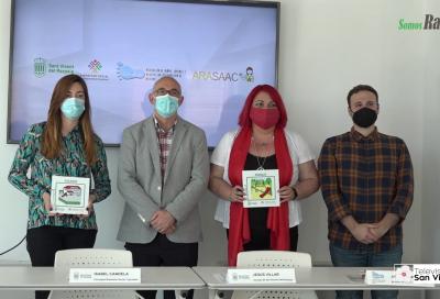 Presentación de la colocación de pictogramas en espacios públicos de San Vicente