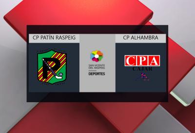 CP Patín Raspeig vs CP Alhambra