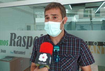 Gerard Fullana Diputado Provincial por Compromís y Ramón Leyda visitan nuestras instalaciones