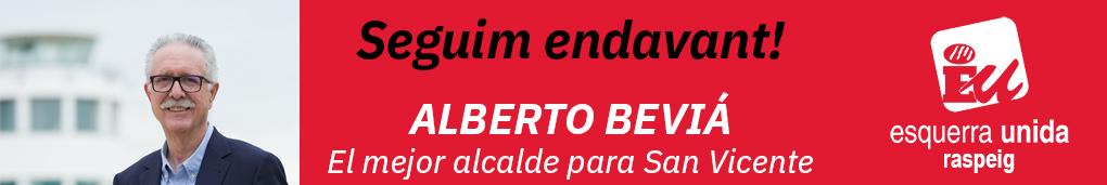Alberto Beviá - Candidato a la Alcaldía Esquerra Unida