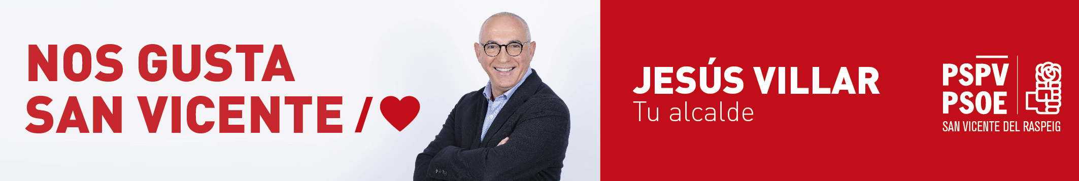 Jesús Villar - Candidato a la Alcaldía PSOE
